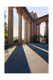 Palace of Fine Arts Columns Shadows San Francisco 2 Photographic Print by Henri Silberman