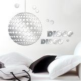Disco Mirror Decal Wall Decal
