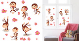 Monkey Kindergarten Window Sticker Decal Window Decal