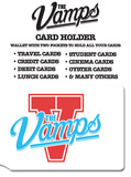 The Vamps Logo - Blue and White Card Holder Originalt