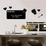 Kitchen Talk Blackboard Wall Decal Muursticker