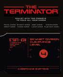 The Terminator CSM-101 Card Holder Novelty
