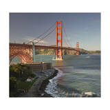 Golden Gate Bridge North View 1 Photographic Print by Henri Silberman