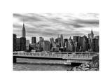 Cityscape with the Chrysler Building and Empire State Building Views Photographic Print by Philippe Hugonnard