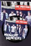 One Direction Midnight Memories Klistermærker