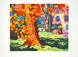 Le Grande Arbre Collectable Print by Guy Charon