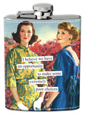 Anne Taintor - Opportunity to Make Poor Choices Flask Flask