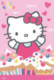 Hello Kitty - Cupcakes Print