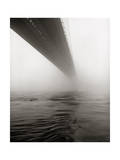 Brooklyn Bridge Fog Photographic Print by Henri Silberman