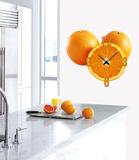 Clockwork Orange Clock Wall Decal Autocollant mural
