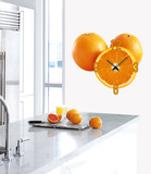 Clockwork Orange Clock Wall Decal Wall Decal