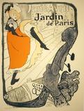 Jane Avril Poster by Henri de Toulouse-Lautrec