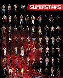 WWE - Superstars Poster