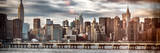 Instants of NY Series - Panoramic Landscape with Chrysler Building and Empire State Building Views Photographic Print by Philippe Hugonnard