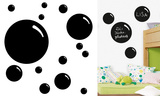 Bubbles Chalkboard Wall Decal Adhésif mural