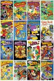 The Simpsons - Comic Covers Poster