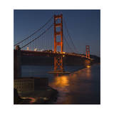 Golden Gate Bridge North View 6 Photographic Print by Henri Silberman