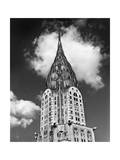 Chrysler Building Cloud Photographic Print by Henri Silberman