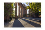 Palace of Fine Arts Columns Shadows San Francisco 1 Photographic Print by Henri Silberman