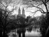 Central Park View in Winter Photographic Print by Philippe Hugonnard