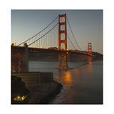 Golden Gate Bridge North View 4 Photographic Print by Henri Silberman
