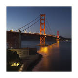 Golden Gate Bridge North View 8 Photographic Print by Henri Silberman