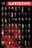 WWE - Superstars Poster