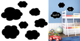 Hello Clouds Chalkboard Wall Decal Wall Decal