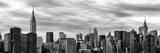 Panoramic Cityscape with the Chrysler Building and Empire State Building Views Photographic Print by Philippe Hugonnard