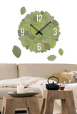 Time For Garden Clock Wall Decal Autocollant