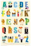 Disney - Alphabet Pósters
