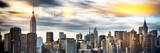 Instants of NY Series - Panoramic Cityscape with Chrysler Building and Empire State Building Views Photographic Print by Philippe Hugonnard