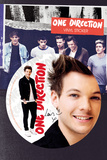 One Direction - Louis Vinyl Sticker Klistermærker