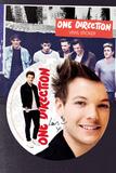 One Direction - Louis Vinyl Sticker Naklejki