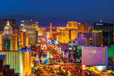 Las Vegas Strip Kunstdruck