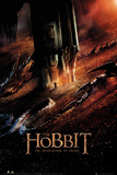 The Hobbit Desolation of Smaug - Dragon Plakáty