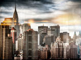 Instants of NY Series - Manhattan View and the Chrysler Building Photographic Print by Philippe Hugonnard