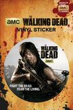 The Walking Dead - Daryl Vinyl Sticker Stickers
