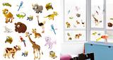 Little Creatures Around The World Window Sticker Decal Naklejka na okno