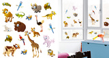 Little Creatures Around The World Window Sticker Decal Window Decal