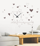 Time For The Kid Clock Wall Decal - Duvar Çıkartması