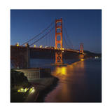 Golden Gate Bridge North View 9 Photographic Print by Henri Silberman