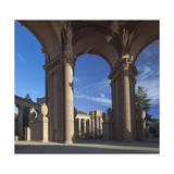 Palace of Fine Arts Columns San Francisco 2 Photographic Print by Henri Silberman