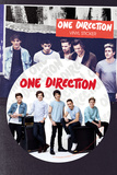 One Direction - Amps Vinyl Sticker Stickers