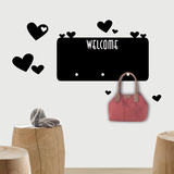 Welcome Chalkboard Wall Decal Autocollant
