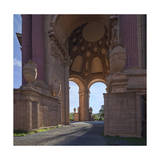 Palace of Fine Arts Columns San Francisco 4 Photographic Print by Henri Silberman