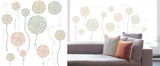 Flower Balloons Window Sticker Decal Window Decal
