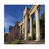 Palace of Fine Arts Columns San Francisco 3 Photographic Print by Henri Silberman