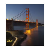 Golden Gate Bridge North View 7 Photographic Print by Henri Silberman