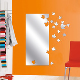 See The Autumn Come Mirror Decal Adhésif mural